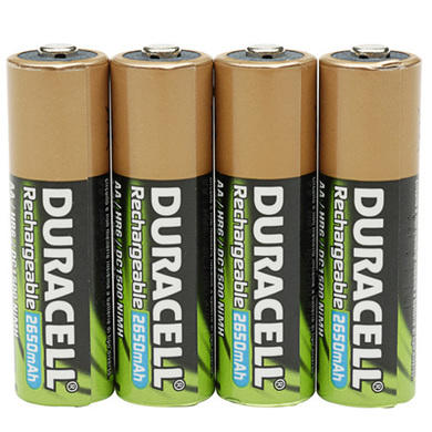 Duracell StayCharged AAA Battery 1 x 4 Pack
