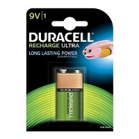 Duracell Recharable Battery 9V Size 1 x 1 Pack