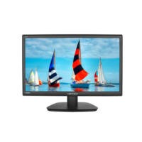 "Hannspree Hanns G HS271HPB 27"" WIDE IPS LED 1920 X 1080 VGA DVI HDMI SPEAKERS Black Monitor"