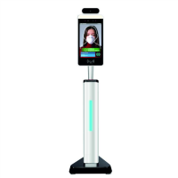"Hygiene Tech 8"" Non-Contact Body Temperature Terminal - Floor Standing"