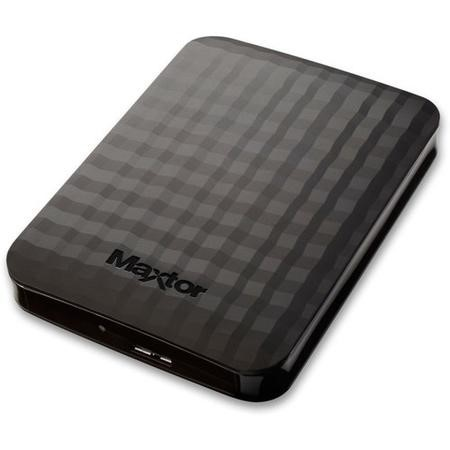 "Maxtor By Seagate M3 2TB 2.5"" Portable Hard Drive in Black"