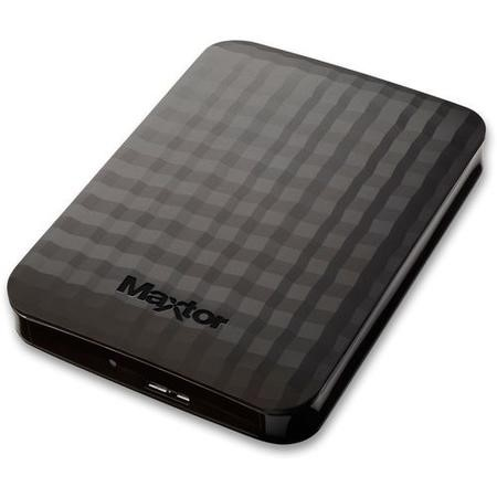 "Maxtor M3 4TB 2.5"" Portable Hard Drive in Black"