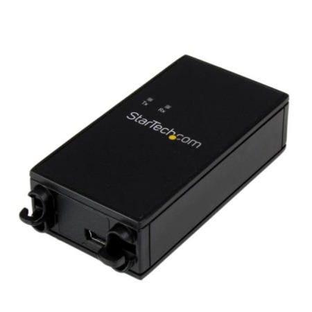StarTech.com 1 Port Industrial USB to RS232 Serial Adapter with 5KV Isolation and 15KV ESD Protectio