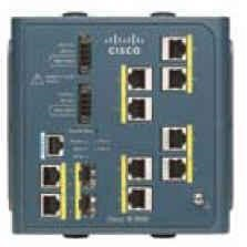 Cisco Industrial Ethernet 3000 Series - switch - 8 ports