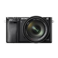 Sony ILCE-6000 Alpha A6000 24.3MP 3.0LCD FHD CSC Camera Black Inc 16-70mm Lens