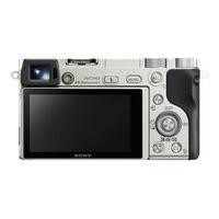 Sony ILCE-6000 Alpha A6000 CSC Camera Silver Body Only 24.3MP 3.0LCD FHD