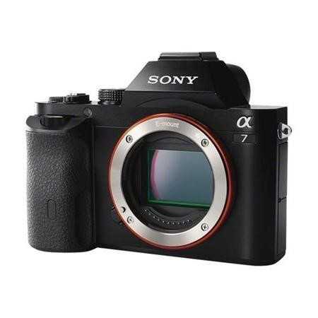 Sony Alpha A7 SLR Camera Black Body Only 24.3MP 3.0LCD FHD