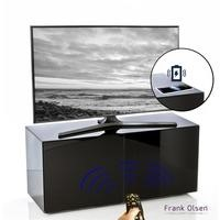 Frank Olsen INTEL1100BLK Black TV Cabinet for up to 55'' TVs