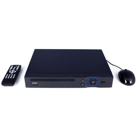 IP8POENVR1TB electriQ 8 Channel POE HD 1080p/960p IP Network Video Recorder with 1TB Hard Drive