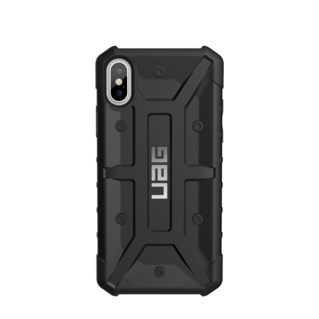 UAG iPhone X 5.8 Screen Pathfinder Case - Black/Silver Logo