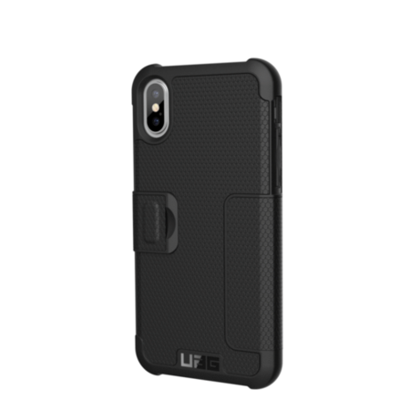 UAG iPhone X 5.8 Screen Metropolis Case - Black/Silver Logo