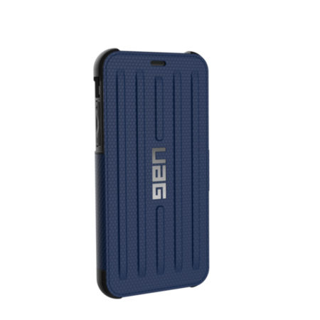 UAG iPhone X 5.8 Screen Metropolis Case - Cobalt/Silver Logo