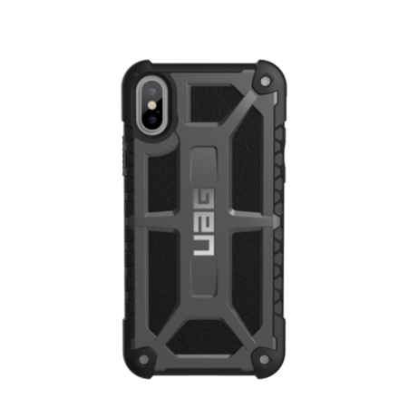 UAG iPhone X 5.8 Screen Monarch Case - Graphite/Black/Silver Logo