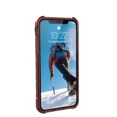 iPhone X 5.8 Screen Plyo Case - Crimson