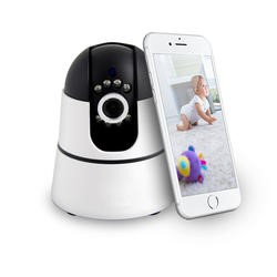 electrIQ High Definition WIFI Baby and Pet Camera Video Monitoring with 2 Way Audio