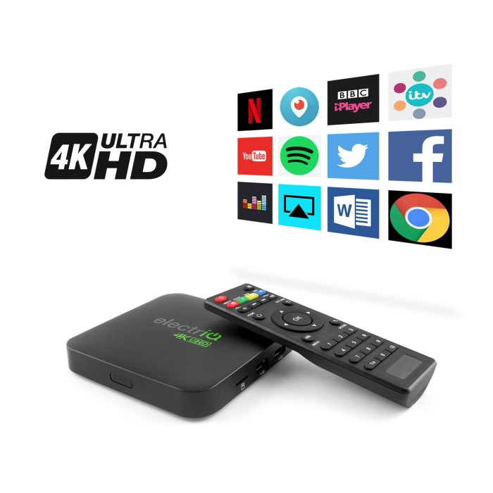 4K UHD Android 6.0 HDR Smart TV Streaming