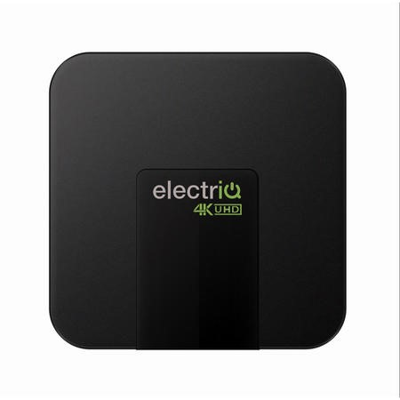 electriQ 4K Ultra HD HDR Android 7.1 Quad Core TV Smart Box with 1GB RAM/16GB ROM and Remote Control
