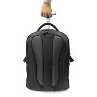 "ElectrIQ Voyage 2 in 1 Laptop Backpack Roller 15.6"" Black"