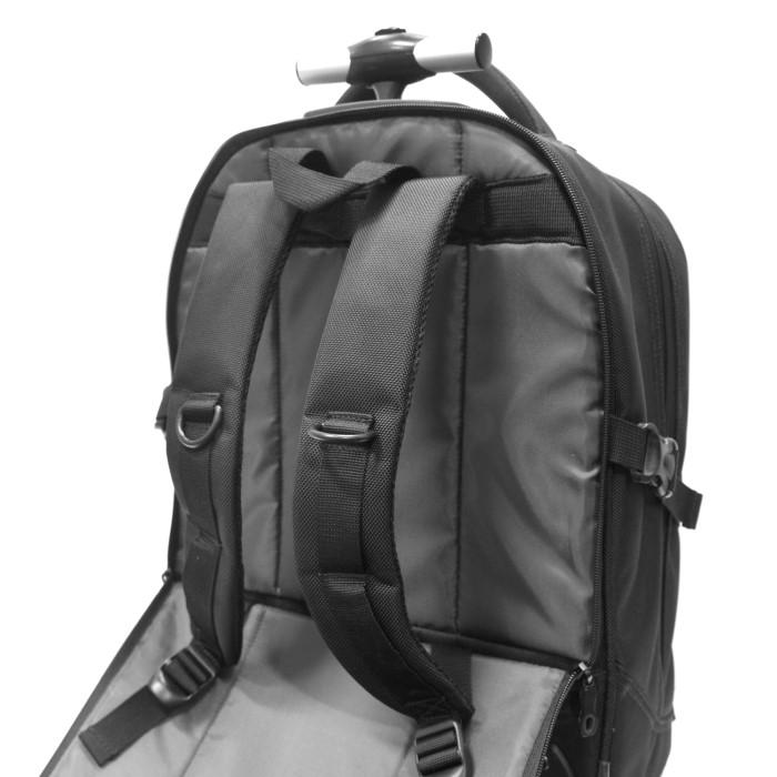 c7bd24a231d5 electriQ Voyage 2 in 1 Laptop Backpack Roller 15.6