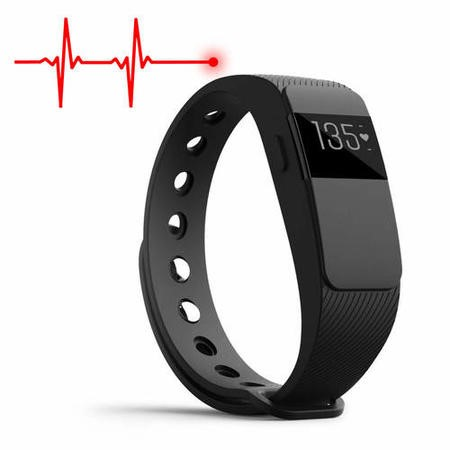 IQ-FIT HR IQ Fitness Tracker with Heart Rate Monitor - Compatible with Apple Health & Google Fit