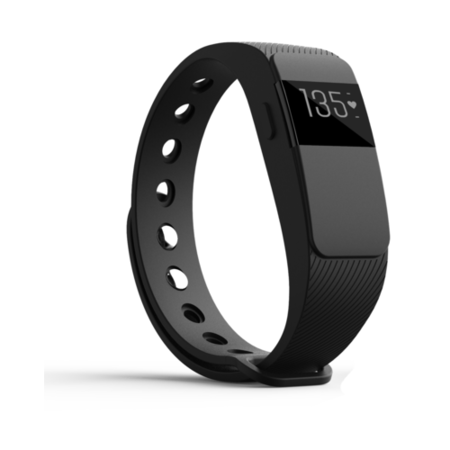 GRADE A1 - IQ Fitness Tracker with Heart Rate Monitor - Compatible with Apple Health & Google Fit