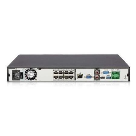 GRADE A1 - electriQ 8 Channel POE 1080P/720P IP Network Video Recorder with 2TB Hard Drive