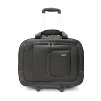 "electriQ Globetrotter Roller Laptop Carry Case 17.3"" Black"