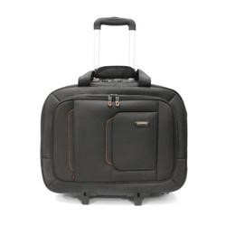 "IQ Globetrotter Roller Laptop Carry Case 17.3"" Black"