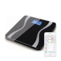 ElectriQ Bluetooth Full Body Analysing Smart Scales with Free iOS & Android App