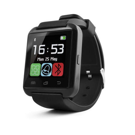 iQ Touch Screen Bluetooth Smart Watch - See Calls Texts Alerts and Messages and Answer Calls all via the Watch -  for Android devices