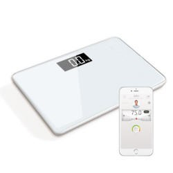 ElectriQ Bluetooth BMI Smart Scale with Free iOS & Android app