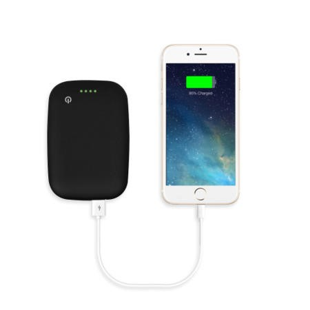 4000mAh Power Bank With Qi Wireless Charging Pad 2in1 - Black