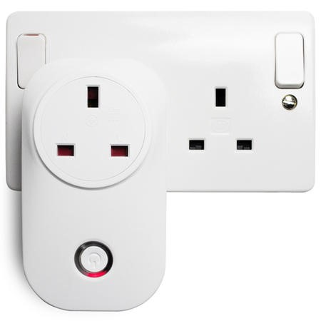 electriQ Smart Plug - Remote control your Mains Plugs from anywhere - Alexa/Google Home compatible