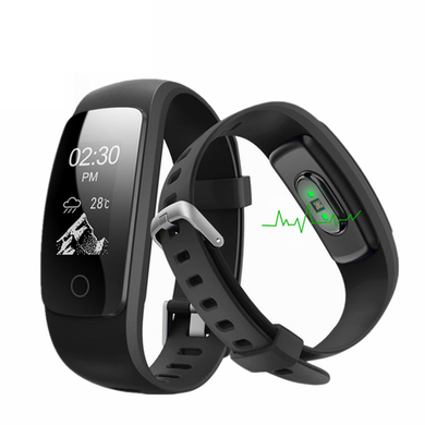 IQFITPLUS IQ PLUS Fitness Tracker with Connected GPS and Multi Sport Mode - Compatible with Android & iOS Devices
