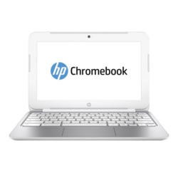 HP Chromebook 11 2GB 16GB SSD Webcam 11.6 inch LED Chromebook Laptop in White