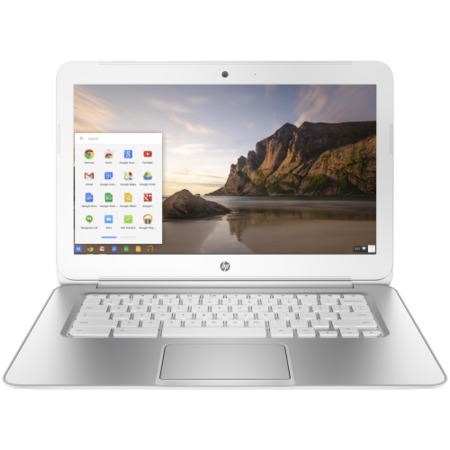 Refurbished Grade A1 HP Chromebook 14-q050na White 4GB 16GB 14 inch Chromebook Laptop