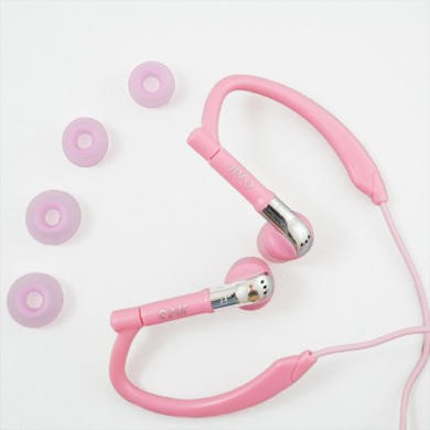 Jivo Sports Endurance Headphones - Pink