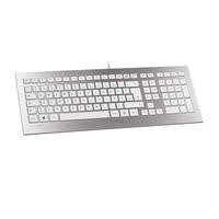 Cherry Strait Keyboard - Silver/White