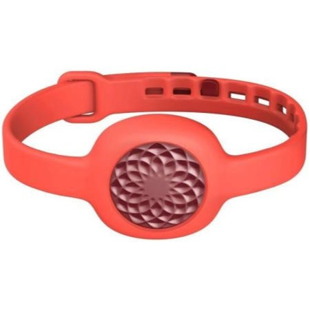 Up Move by Jawbone - Ruby Rose With Red Punch Slim Strap