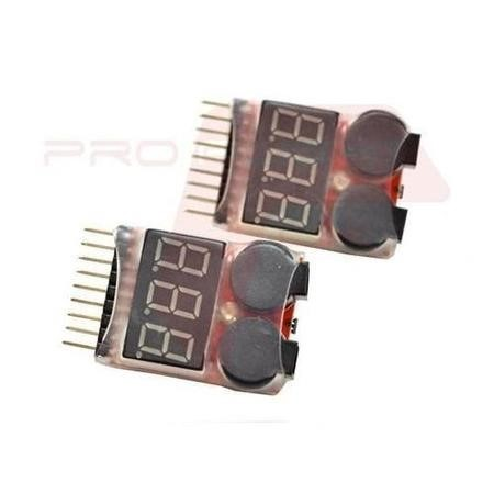 JST PAIR Two Drone Low Voltage Battery Alarm Buzzers For 7.4V - 29.6V 2S - 8S LiPo