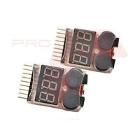 Drone Low Voltage Battery Alarm Buzzers For 7.4V - 29.6V 2S - 8S LiPo