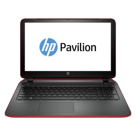 Refurbished Grade A1 HP Pavilion 15-p024na 4th Gen Core i5-4210U 4GB 1TB Windows 8.1 Laptop in Red & Grey