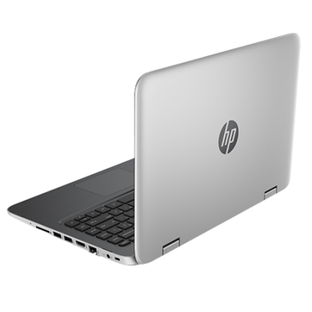 "Hewlett Packard A1 brand new box damaged HP Pavilion x360 13-a100na Silver - Core i3-4030U 1.9GHz/3MB 4GB DDR3L 1TB 13.3"" HD Touch Win8.1 64Bit NO-OD Intel HD 4400 webcam BT 4.0 2xUSB 3.0 HDMI 1YR"
