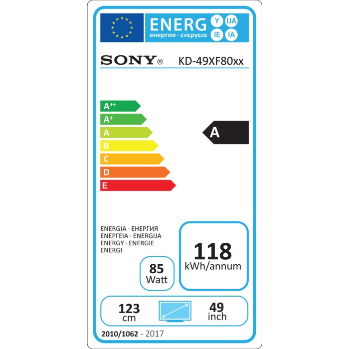 """a1fe5d3033df Sony Bravia KD49XF8096 49"""" 4K Ultra HD HDR LED Android Smart TV with 5  Year"""
