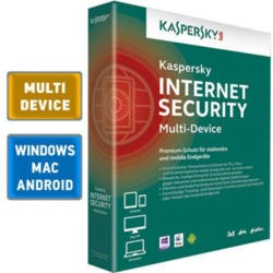 Kaspersky Internet Security 2015 Multi Device 1 User 1 Year Retail DVD Box UK