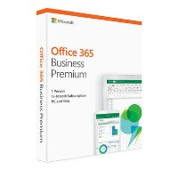 Microsoft Office 365 Business Premium 2019 - 1 User - 1 Year Subscription