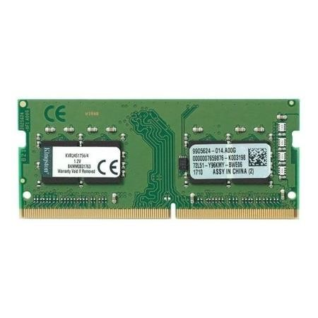 GRADE A1 - Kingston 4GB DDR4 2400MHz Non-ECC SO-DIMM Memory