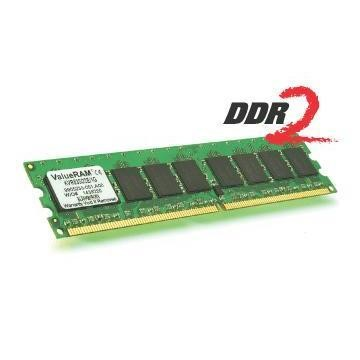 KVR400D2D8R3/2G Kingston ValueRAM memory - 2 GB - DIMM 240-pin - DDR2