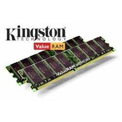 Kingston ValueRAM memory - 4 GB  2 x 2 GB  - DIMM 240-pin - DDR2