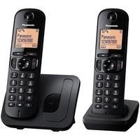 Panasonic KX-TGC212EB Twin DECT Call block in Black